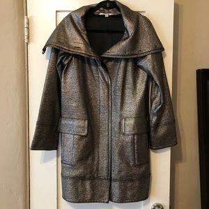 DVF metallic dinner jacket size 4 light use